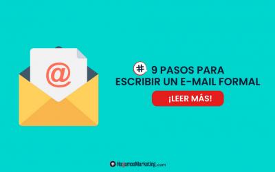 9 pasos para escribir un e-mail formal