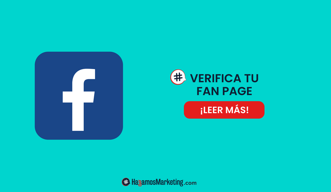 Cómo verificar una página Fan Page en Facebook
