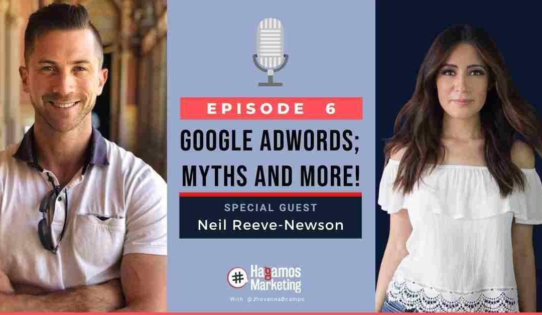 Google Adwords; myths and more   Hagamos Marketing the podcast